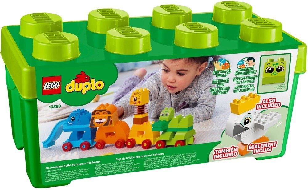 Lego Duplo Pociąg Ze Zwierzątkami 10863 Klocki Lego Duplo Klocki