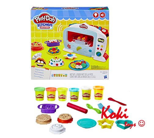 ZH-B0011 PlayDoh Salon Fryzjerski Rainbow