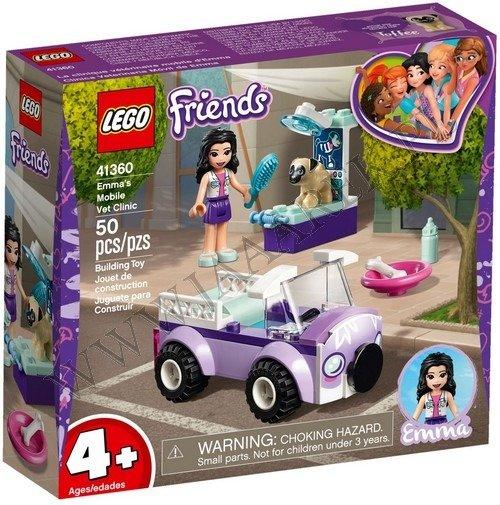 Lego Friends Mobilna Klinika Weterynaryjna Emmy 41360 Marki Lego
