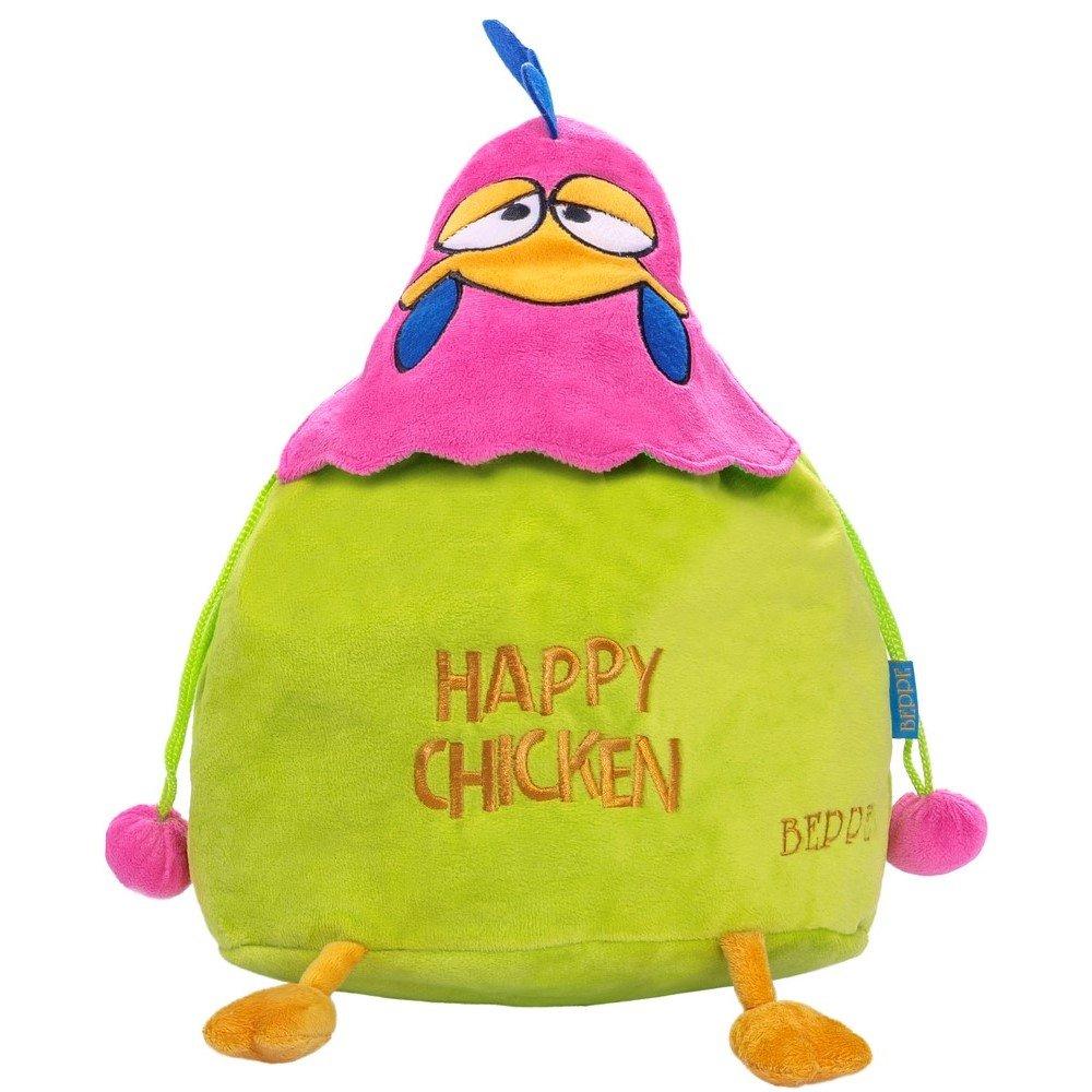 084b84260fbc9 12475 Plecak Happy Chicken niebieski   PLUSZAKI \ Plecaki MARKI ...