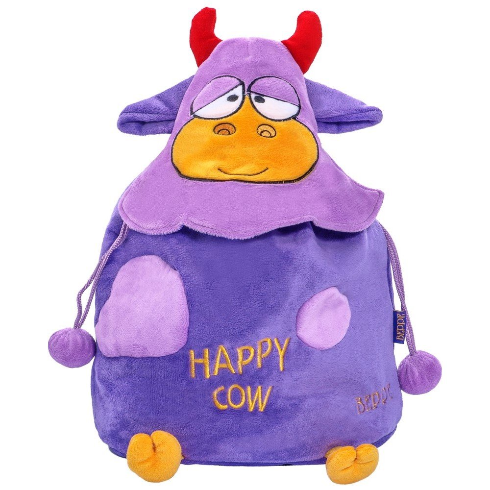 15de6c9ca11d8 12480 Plecak Happy Cow fioletowy   PLUSZAKI \ Plecaki MARKI \ Beppe ...
