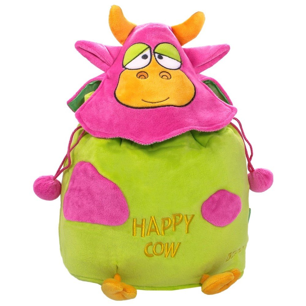 014b4789d1bd9 12482 Plecak Happy Cow zielony   PLUSZAKI \ Plecaki MARKI \ Beppe ...