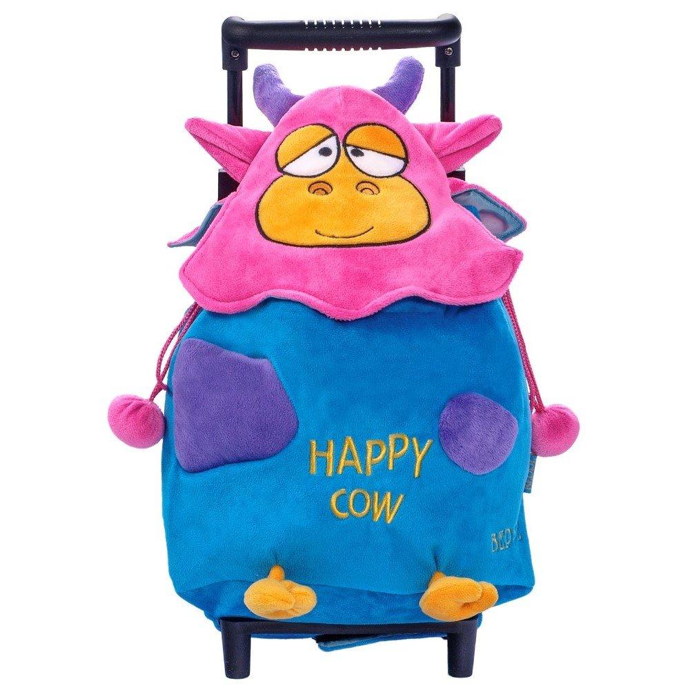 2af8cb6240170 12487 Happy Cow plecak trolley niebieski   PLUSZAKI \ Plecaczki na ...