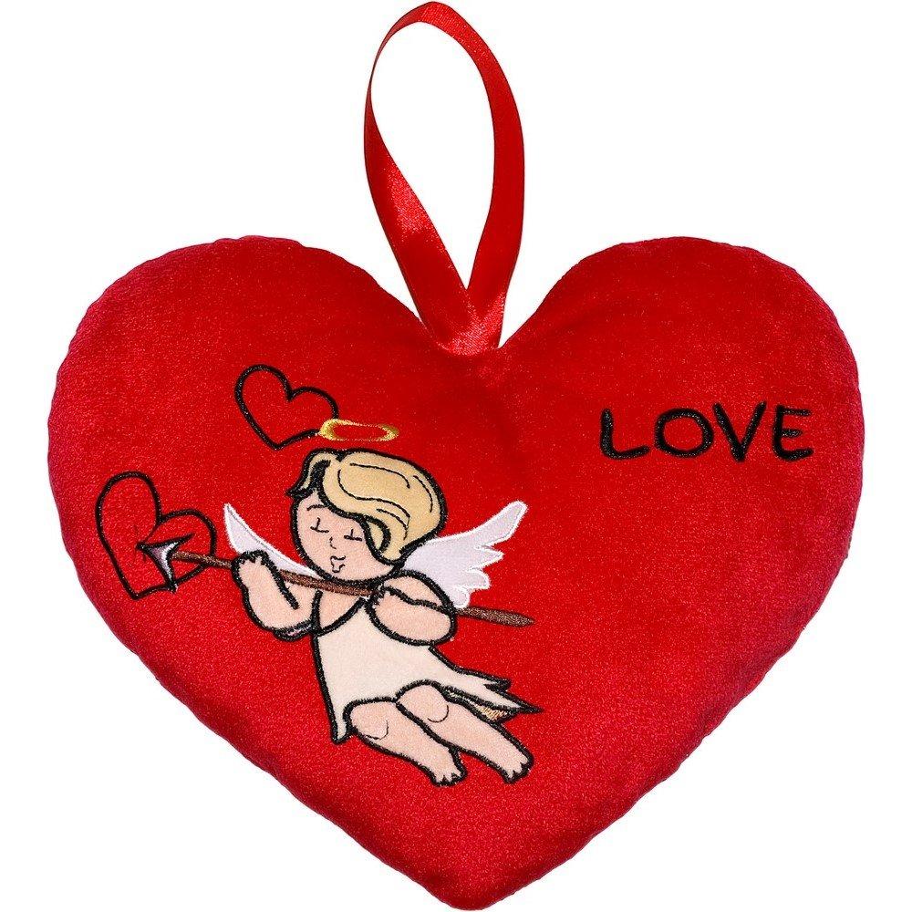 12497 Poduszka Serce 20cm Amorek Love Pluszaki Poduszki Marki