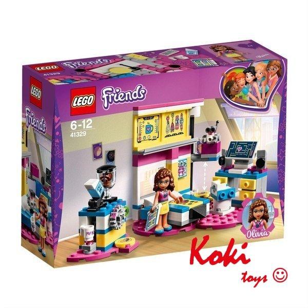 Lego Friendssypialnia Olivii 41329 Marki Lego Klocki Lego