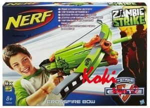 Nerf Zombie Crossfire Bow A6558